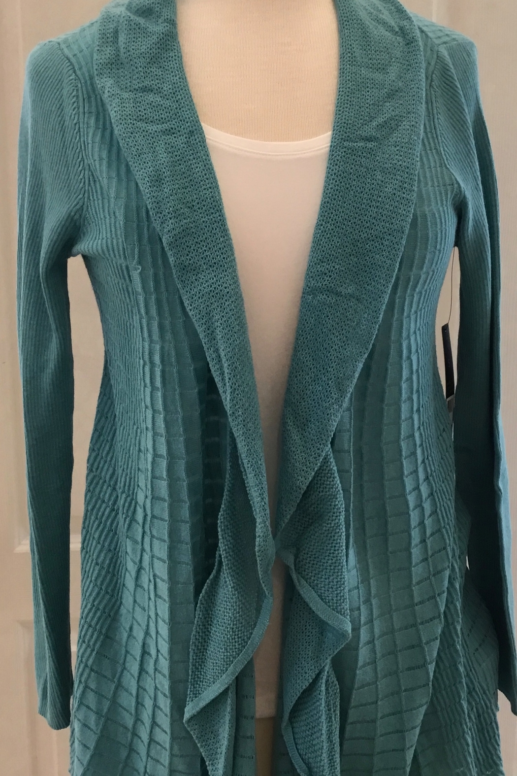 Nic+Zoe Open cardigan sweater - Front Cropped Image