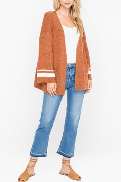 Shoptiques Product: Open-Front Bell-Sleeve Cardigan