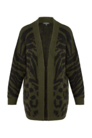 Liverpool Open Front Camo Cardigan - Product Mini Image