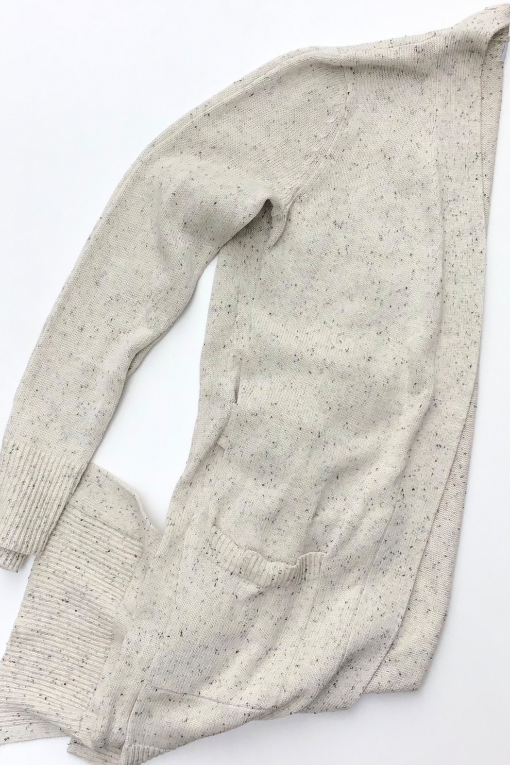 Meli by FAME OPEN FRONT CARDIGAN - Front Cropped Image