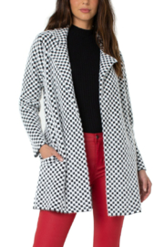 Liverpool  Open Front Cardigan Sweater Coat - Front cropped