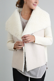 Open Front Fur Jacket - Product Mini Image