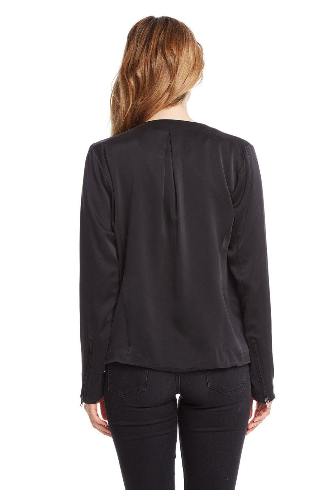 Chaser Open Front Jacket - Side Cropped Image