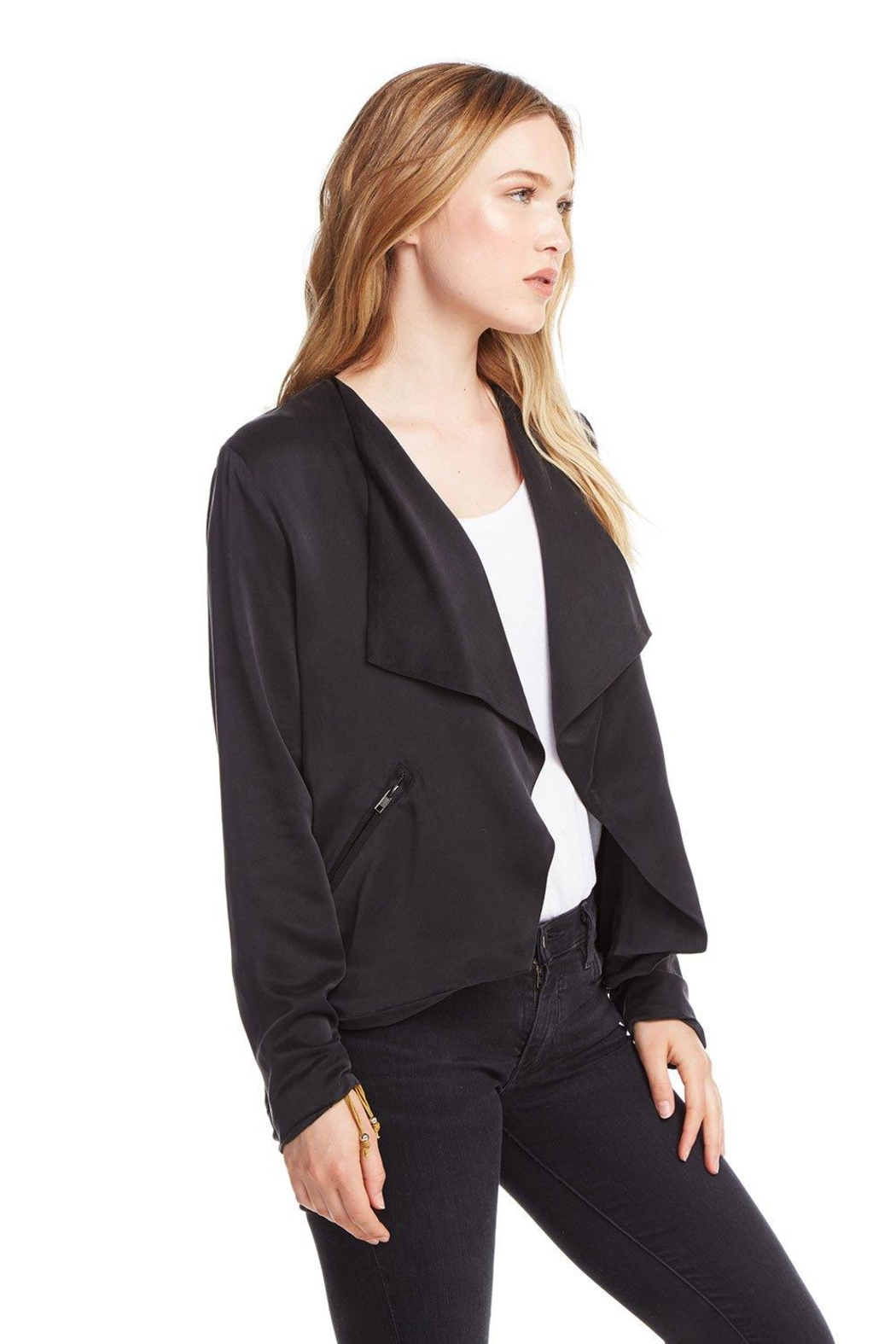 Chaser Open Front Jacket - Front Full Image