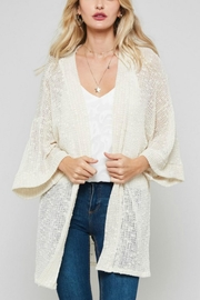 Promesa USA Open-Front Kimono Cardigan - Product Mini Image