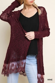 Umgee USA Open Front Light-Cardigan - Product Mini Image