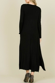 annabelle Open Front Maxi-Cardigan - Front full body