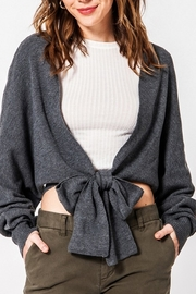 HYFVE Open Heart Cardigan - Front cropped