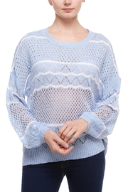 Dreamers Open Knit Sweater - Product Mini Image