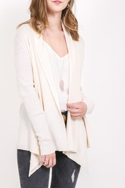 Very J Open Oatmeal Cardigan - Product Mini Image