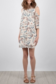 Molly Bracken Open Shoulder Dress - Product Mini Image