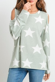 First Love Open-Shoulder Star Top - Product Mini Image