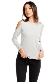 Chaser Open Shoulder Tee - Product Mini Image