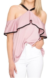 She + Sky Open Shoulder Top - Product Mini Image