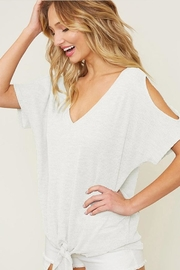 1 Style Open Shoulder Top - Product Mini Image