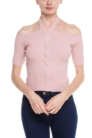 Alythea Open Shoulder Top - Product Mini Image