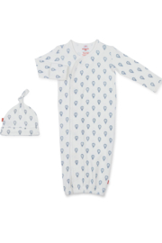 Magnetic Me Open Sky Organic Gown Set - Product Mini Image
