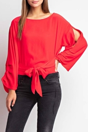 Mittoshop Open Sleeve Top - Front cropped