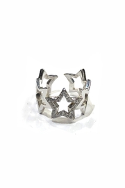Lets Accessorize Open Star Ring - Product Mini Image