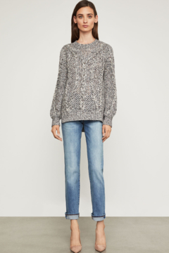 Shoptiques Product: Open Stitch Cable Pullover