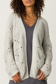 Margaret O'Leary Open Stitch Cardigan - Front cropped