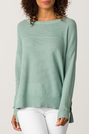 Margaret O'Leary Open Stitch Pullover - Front cropped