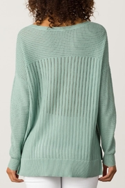 Margaret O'Leary Open Stitch Pullover - Side cropped