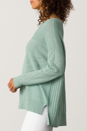 Margaret O'Leary Open Stitch Pullover - Front full body