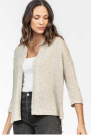 Lilla P Open Sweater Cardigan - Front cropped