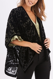2 Chic Open Velvet Cape - Product Mini Image