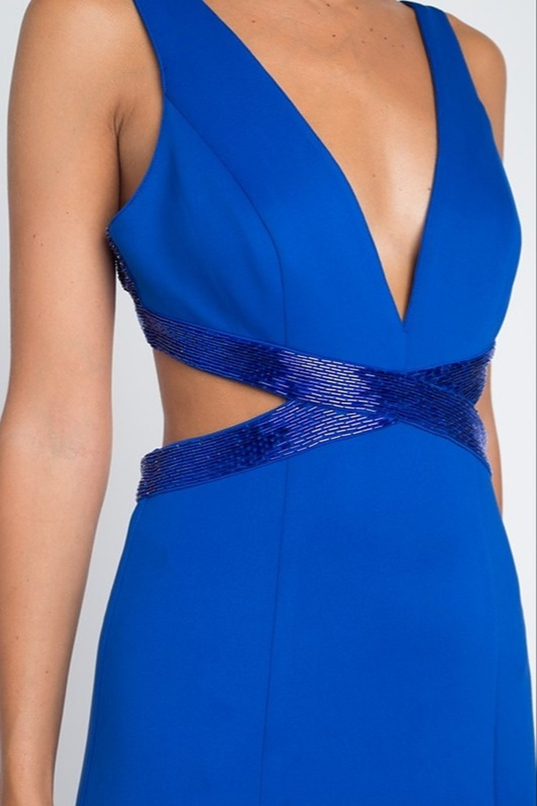 Minuet Open Waist Gown - Back Cropped Image
