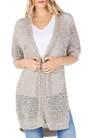 Michael Stars Open Weave Cardigan - Front cropped