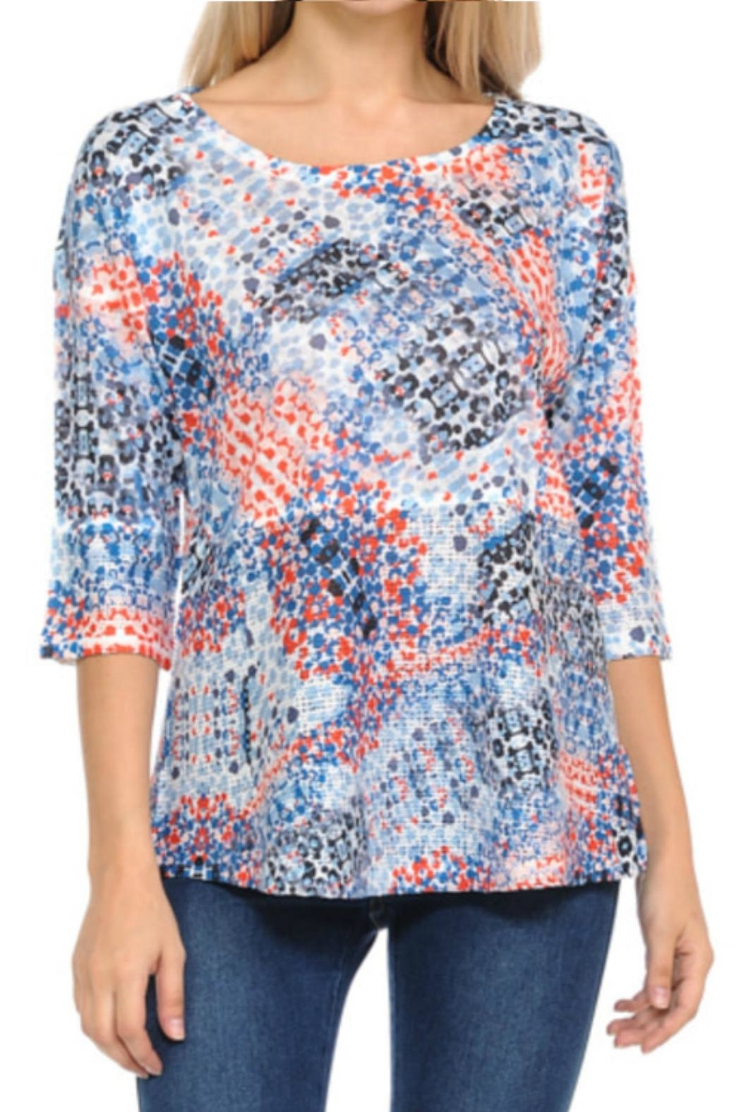 Cubism Open Weave Tee - Main Image