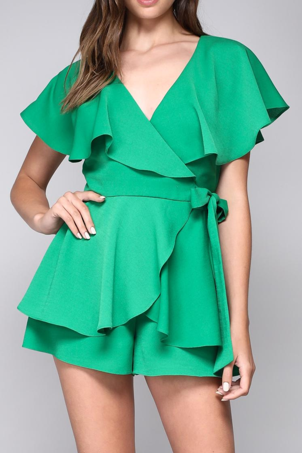Open Wrap Playsuit by Dor L'dor, New York City