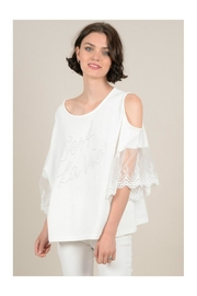 Molly Bracken Openwork Shoulders Tunic - Product Mini Image