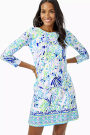Lilly Pulitzer Ophelia Knit Swing Dress - Front cropped