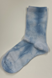 Opi & Max Tie Dye Organic Cotton Socks - Front cropped
