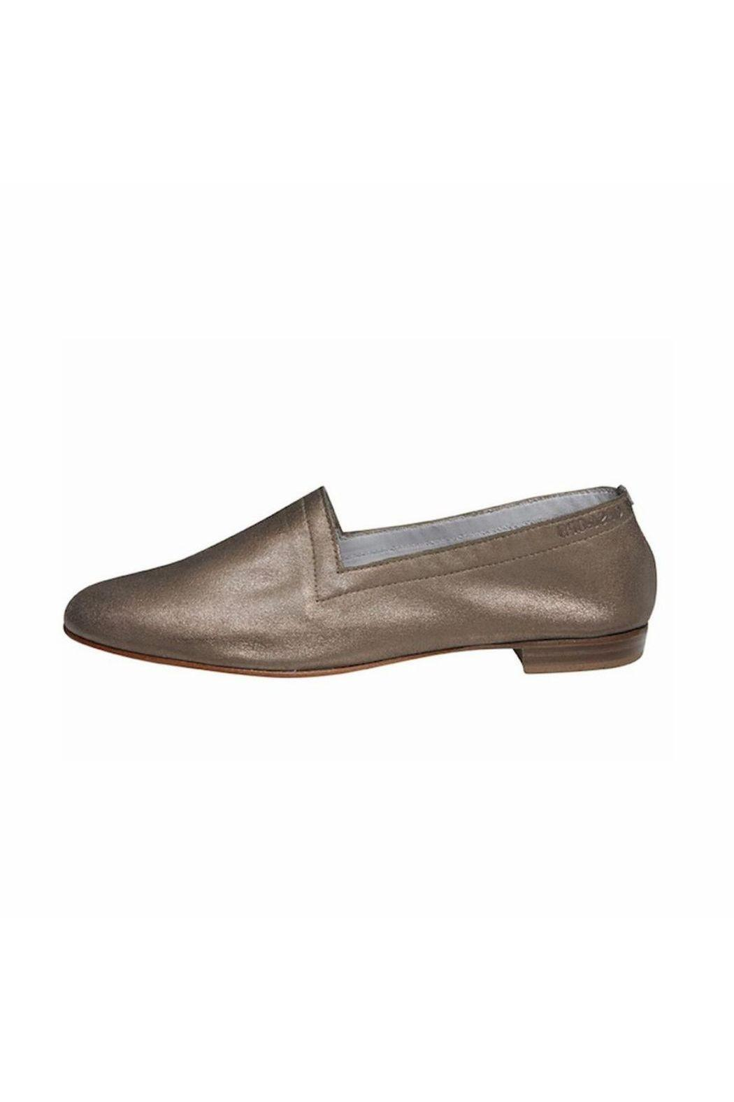 OPS&OPS Bronze Soft-Leather Flat - Main Image