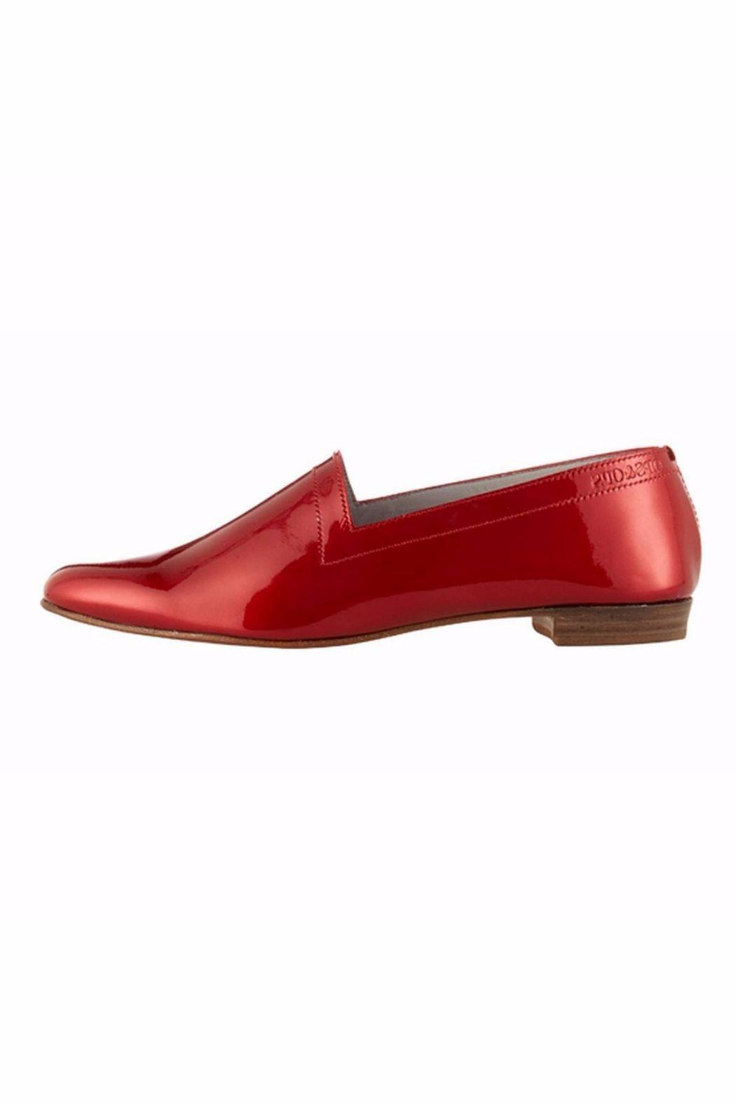 OPS&OPS Red Patent-Leather Shoe - Main Image