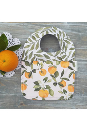 American Eco Baby Orange Blossom Drool Bib - Product Mini Image