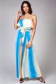 Latiste Orange-Blue Ombre Jumpsuit - Product Mini Image