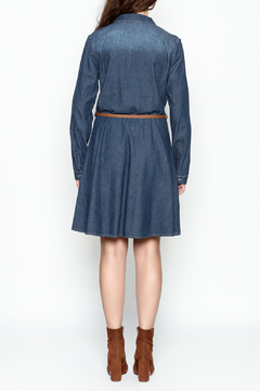Orange Caramel Denim Shirtdress - Alternate List Image