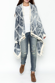 Orange Creek Fringe Sweater Cardigan - Side cropped