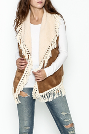 Orange Creek Tassel Fringe Vest - Product Mini Image