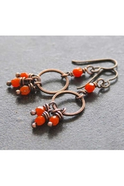 RELMoriginals Orange Dangle Earrings - Product Mini Image