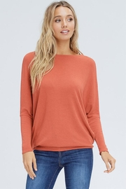 Jolie Orange Dolman Tunic - Product Mini Image