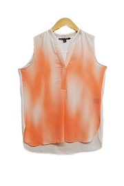 Zac & Rachel Orange Ombre Top - Product Mini Image