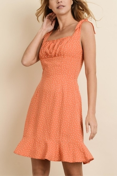 dress forum Orange Poke-A-Dot Dress - Product List Image