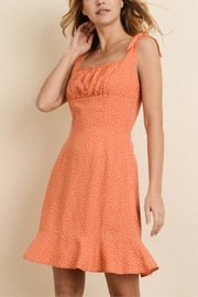 dress forum Orange Poke-A-Dot Dress - Product Mini Image
