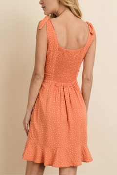 dress forum Orange Poke-A-Dot Dress - Alternate List Image
